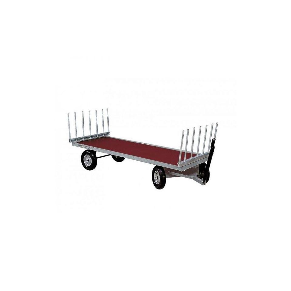 Chariot fourrage 4 roues ekeep - Chariot porte roue tracteur ...