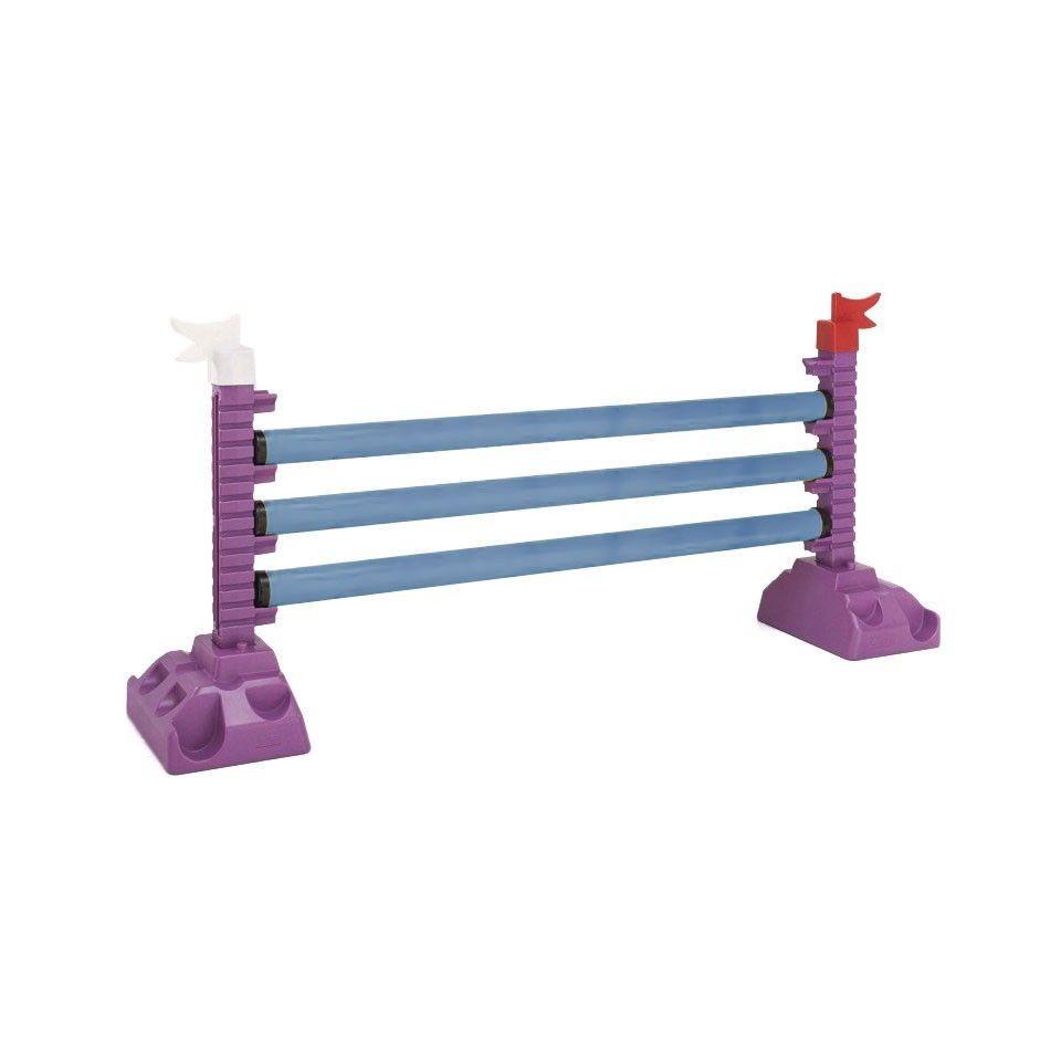 Barre d'obstacle 2 m bleue