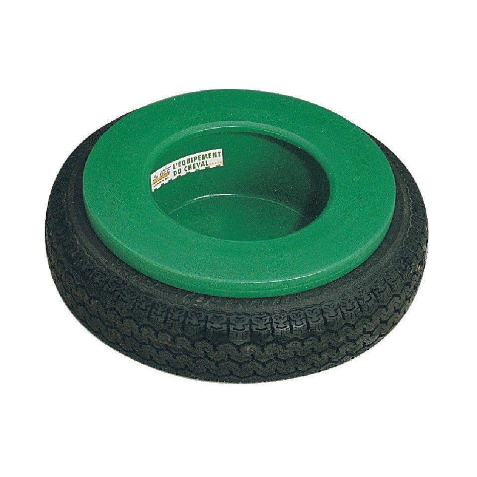 Mangeoire chevaux circulaire à pneu 15L