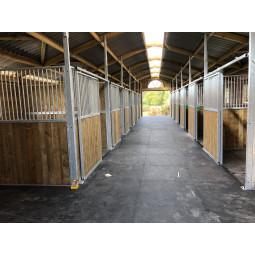 Dalle de boxe K16, tapis caoutchouc pour chevaux - EKEEP