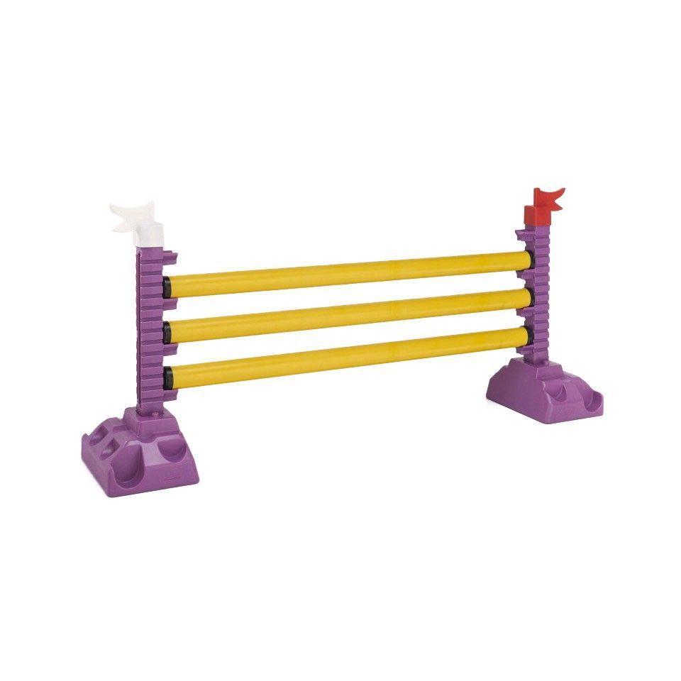Barre d'obstacle 2 m jaune spécial poney - EKEEP