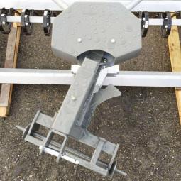 Herse de piste équestre de 2,40m ou 3m pour tracteur et sol non fibré, sol classique - EKEEP
