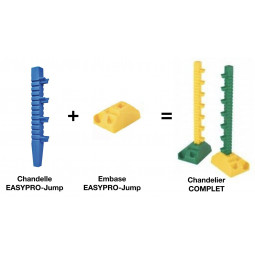Embase Easy Pro Jump pour obstacle - EKEEP