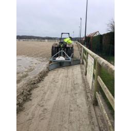 Rameneur de bords pour sable accumulé en bord de piste équestre - exclusivité EKEEP