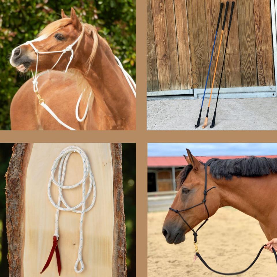 Kit complet matériel d'équitation éthologique - EKEEP