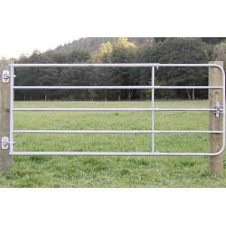 Barrière de prairie pour chevaux, 1,10m de hauteur et largeur extensible de 1m - EKEEP